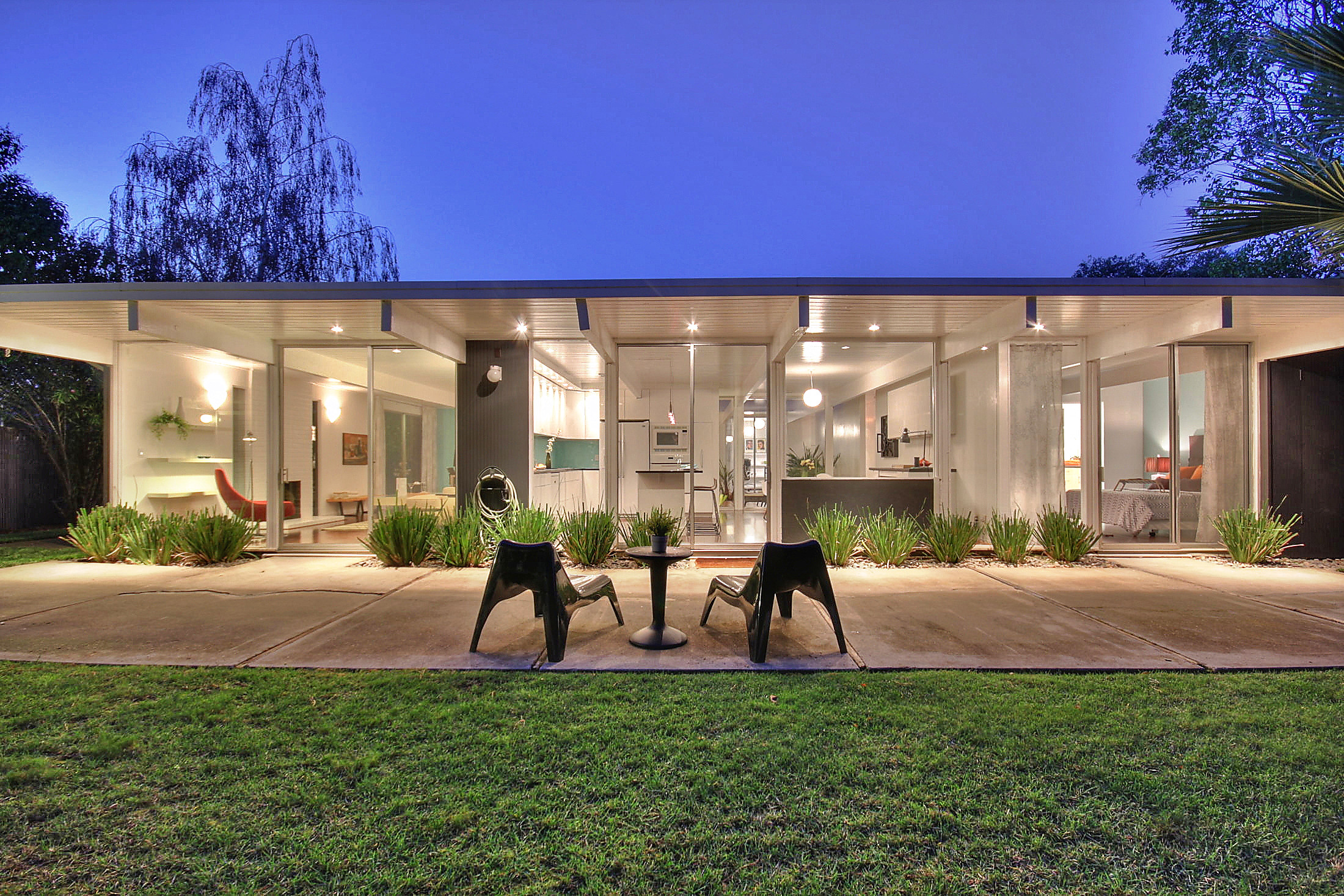 Art for eichler homes the happy collective blog san for Eichler designs
